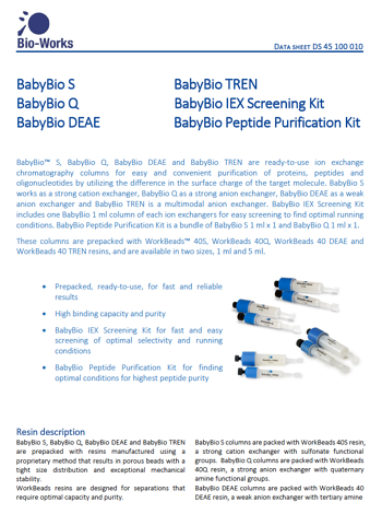 BabyBio IEX screening kits image